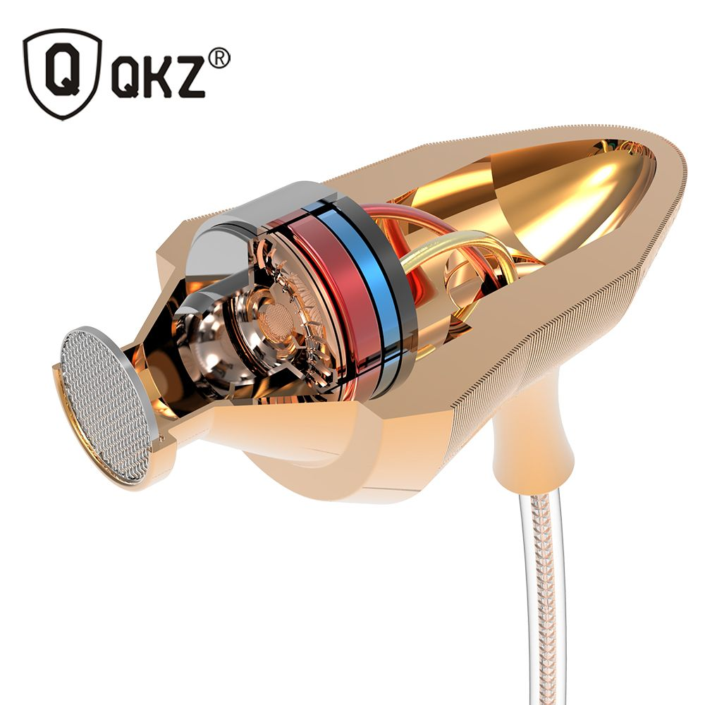In Ear Music Earphone With Mic QKZ X7 Super Bass dj audifonos HIFI Stereo Earplug Noise Isolating Sport Earphone Monitor Headset