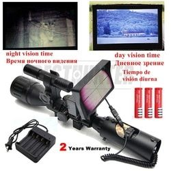 200M Malam Visi Lingkup Berburu Lingkup Malam Riflescope Optik Malam Berburu Lingkup Penembak Jitu Senapan Angin Gun 2 Tahun Garansi