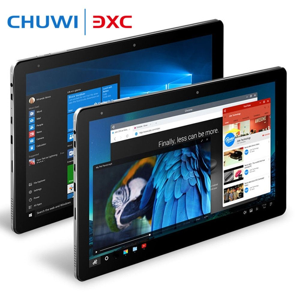 Chuwi Hi10 Pro 10.1 inch IPS Tablet PC 4G 64G Windows 10 Android 5.1 1920x1200 2 in 1 Tablets Intel Cherry Trail x5-Z8350 Type-C