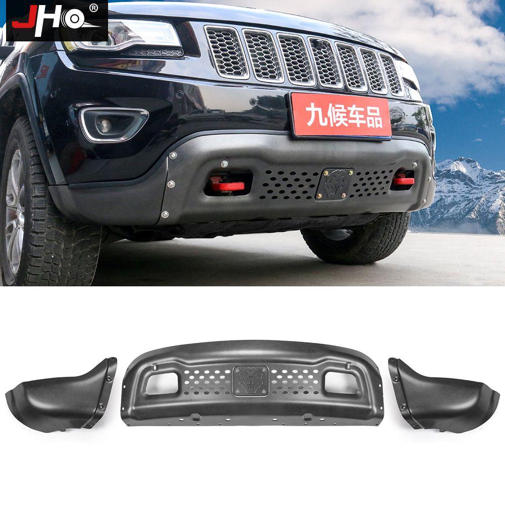 JHO Offroad Fahren Frontschürze Schutz Schutz Für Jeep Grand Cherokee 2014-2018 Auto Modifikation Zubehör 2017 2016 2015
