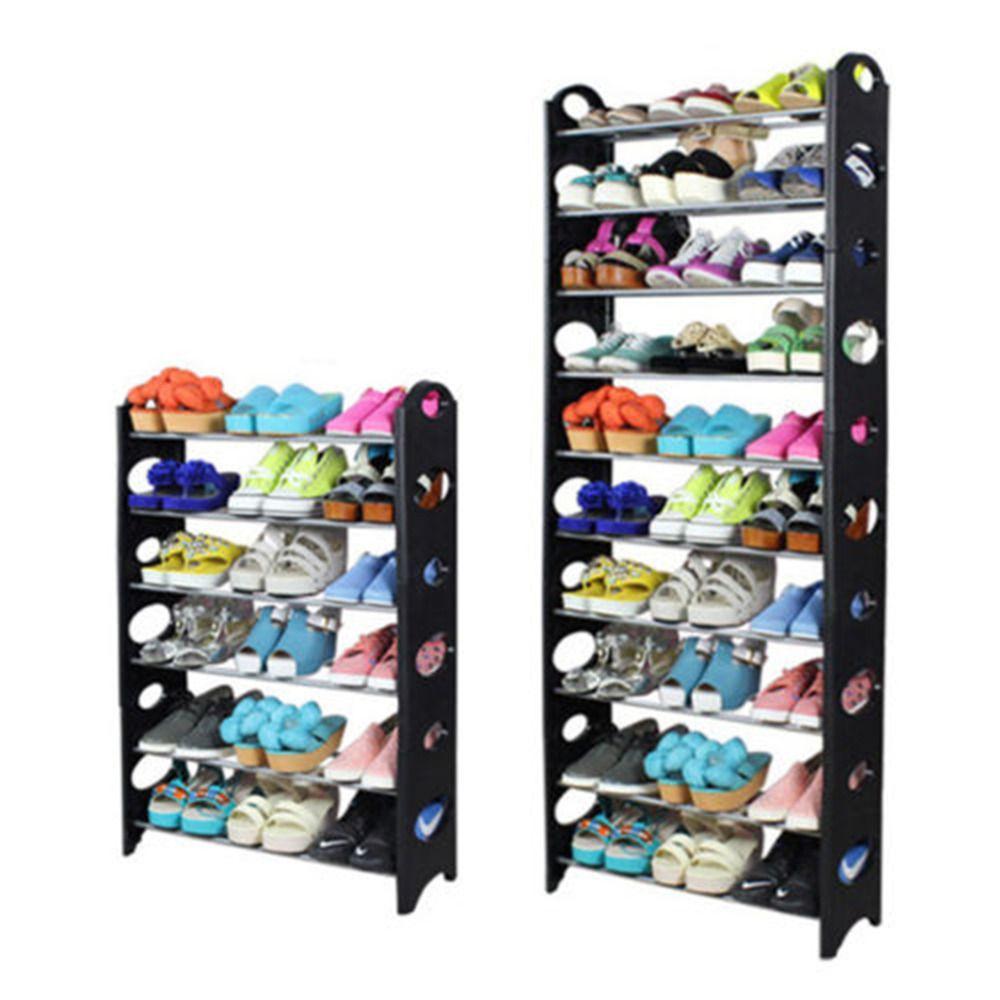 shoe rack organizer box shelf shoes organizers rack cabinet holder double shoe cupboard boxs holders space saver dorm