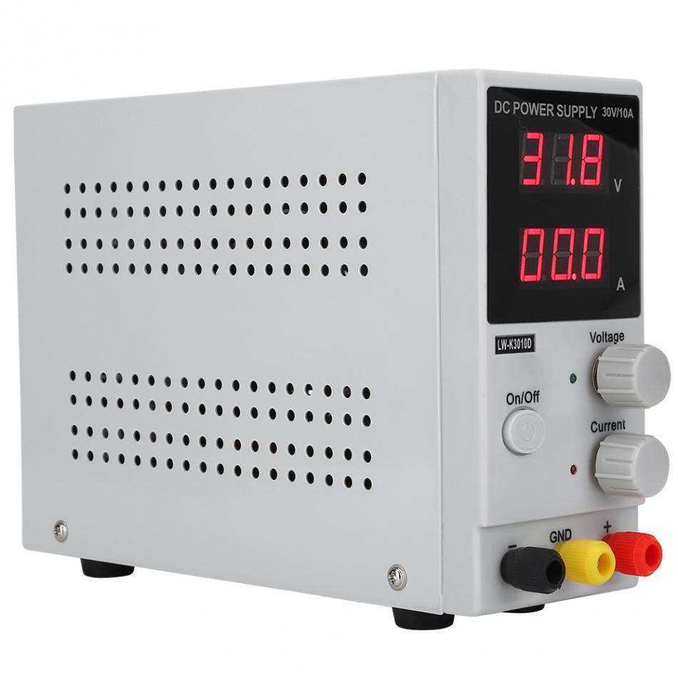 0-30 v 0-10A spannung regler Einstellbar Digitale Display DC Power Supply Schalt Power Quelle regulador de voltaje