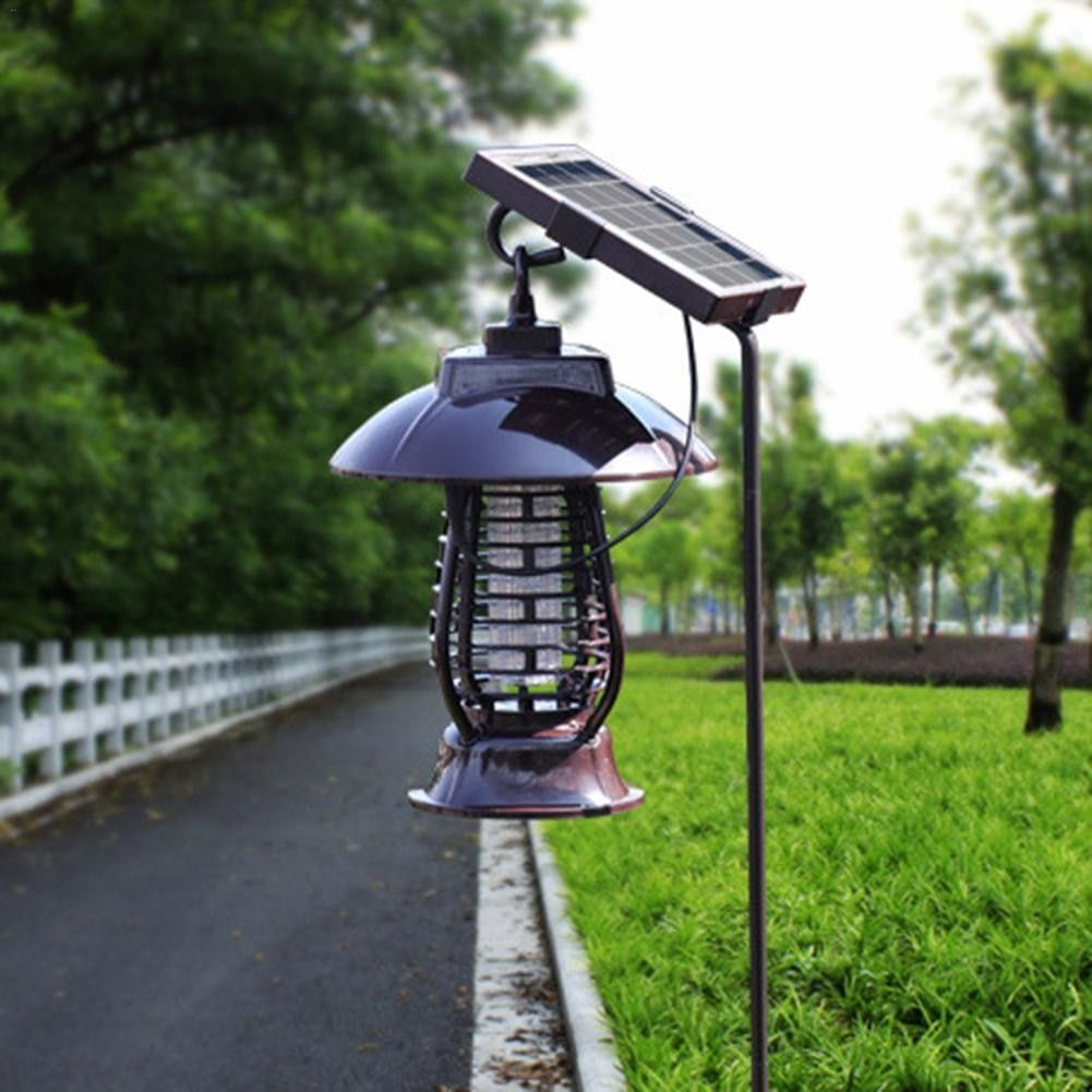 Multifunction Solar Energy Mosquito Killer Light Mosquito Repeller Light Insect Killing Lamp Home Gardens Outdoor Pest Reject