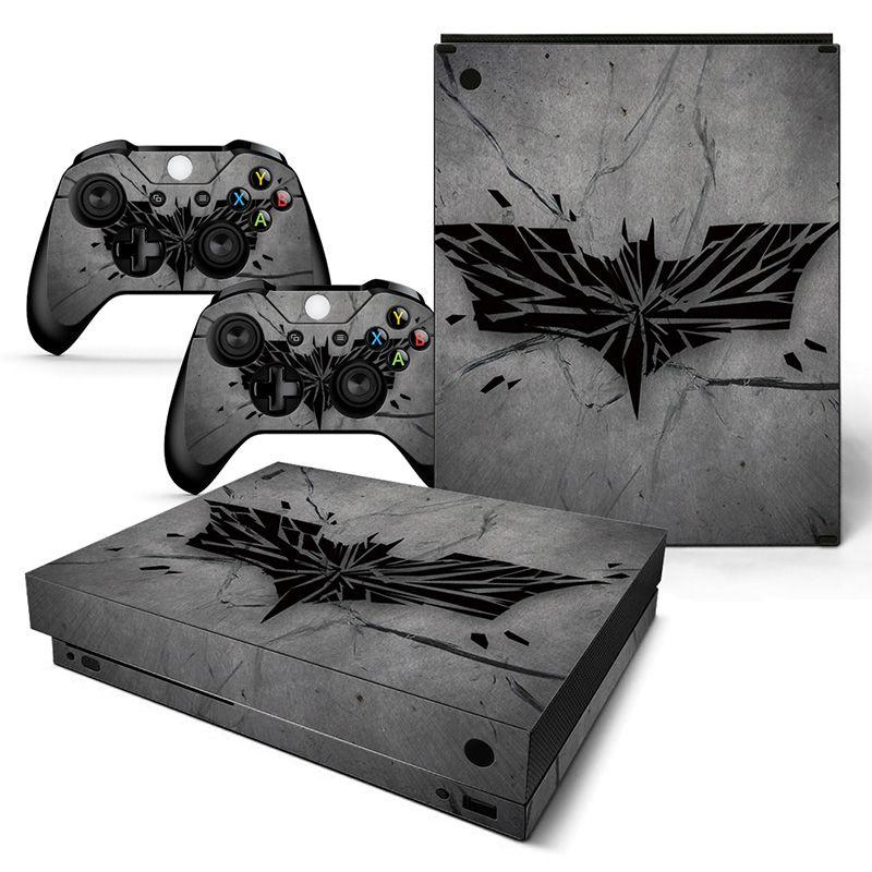 Chirstmas Geschenk Vinyl Haut Aufkleber für Xbox one X und 2 controller skins Aufkleber für videospiele