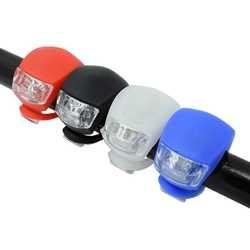Велосипедный передний фонарь силиконовый светодиодный головной передний задний фонарь для велосипеда водонепроницаемый велосипедный фон...
