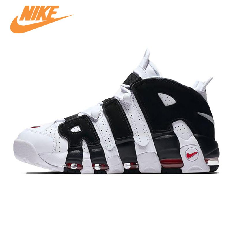 Original New Arrival Authentic Nike Air More Uptempo Men's Basketball Shoes Sports Sneakers Trainers