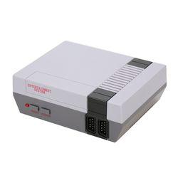 Puerto AV Retro Mini TV portátil recreación familiar consola incorporado 500 juegos clásicos Gamepad Dual jugador del juego