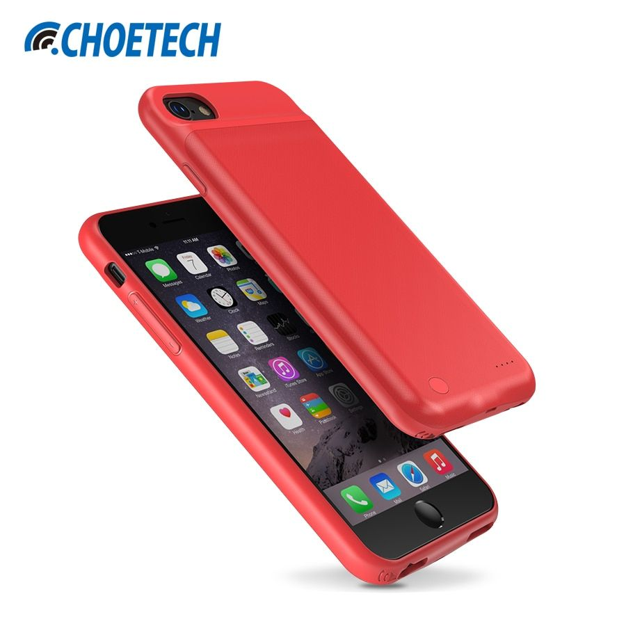 CHOETECH Battery Charger Case For iPhone 8 Plus 7 Plus 5.5 inch 3300mAh Power Bank Charging Case for iPhone 6 Plus 6S Plus