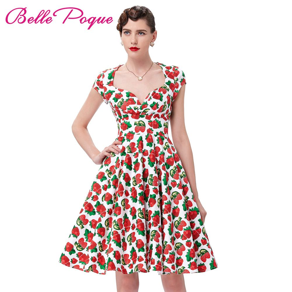 Summer Dress 2018 Vintage Rockabilly Dresses Jurken 60s 50s Vintage Big Swing Floral Pinup Short Long Audrey Hepburn Dresses