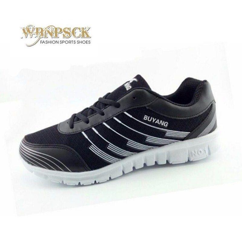 Nouveaux hommes de chaussures en automne de 2017 hommes, confortable maille respirante chaussures de toile à fond plat vulcanisé chaussures grande taille 36-46