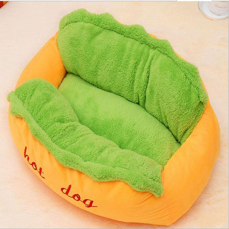 Hot sale hot Dog Bed Pet Winter Beds Fashion Sofa Cushion Supplies Warm Dog House Pet Sleeping Bag Cozy Puppy Nest Kennel