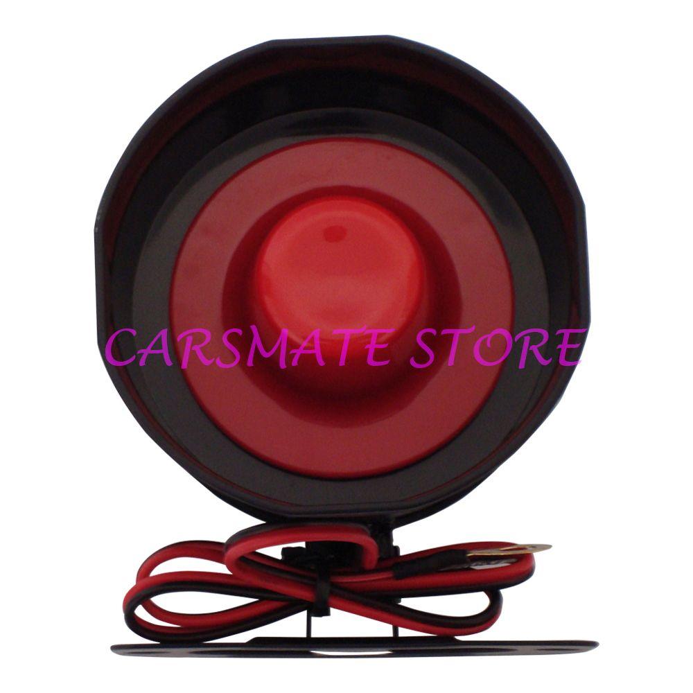 Лидер продаж Универсальный 6 шесть тон сирены Рог для автомобильных сигнализаций DC12V 15 Вт 120db Электронная сирена с 35 см Провода carsmate