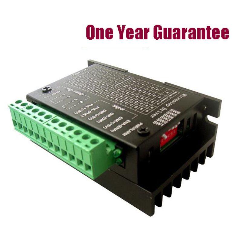 50 teile/los TB6600 4A Schrittmotortreiber 9 ~ 42 V TTL 16 Mikroschritt CNC 1 Achsen NEUE Verbesserte Version des 42/57/86 Schrittmotor D