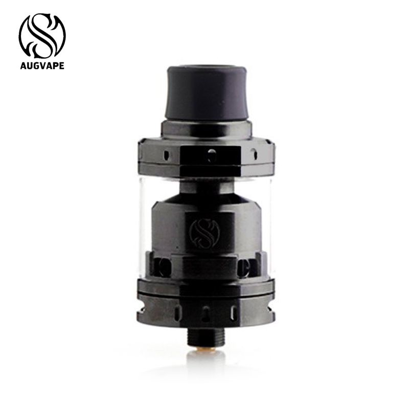 Original Augvape Merlin Mini RTA Atomizer tank Vaporizer Vape with a single sided 2 Post Velocity Style Deck  E-Cigarette Tank