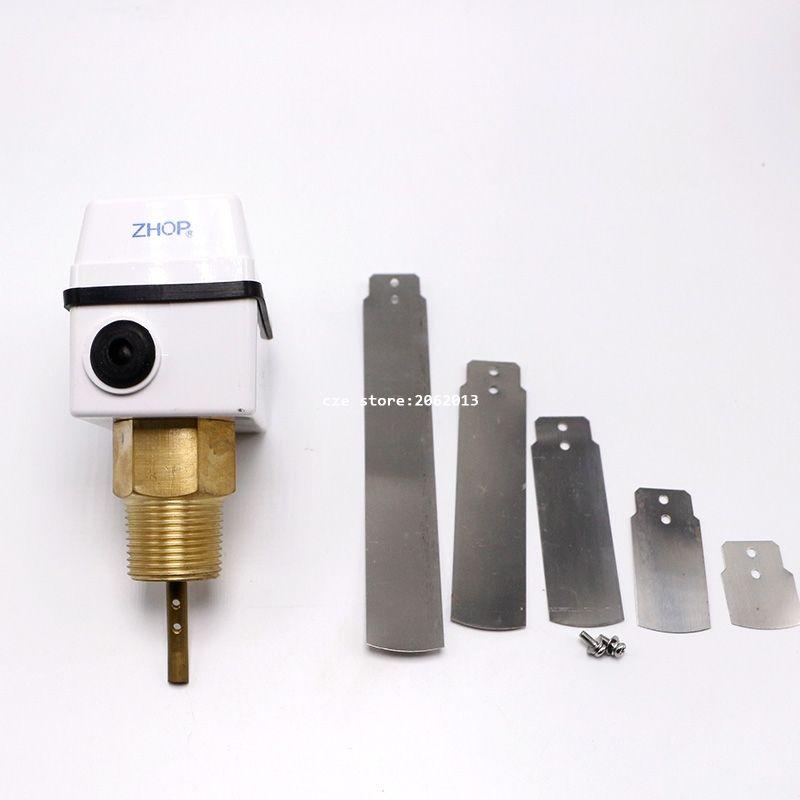 Waterproof Dustproof Liquid Flow Control Water Flow Switch ZFS-25 G1