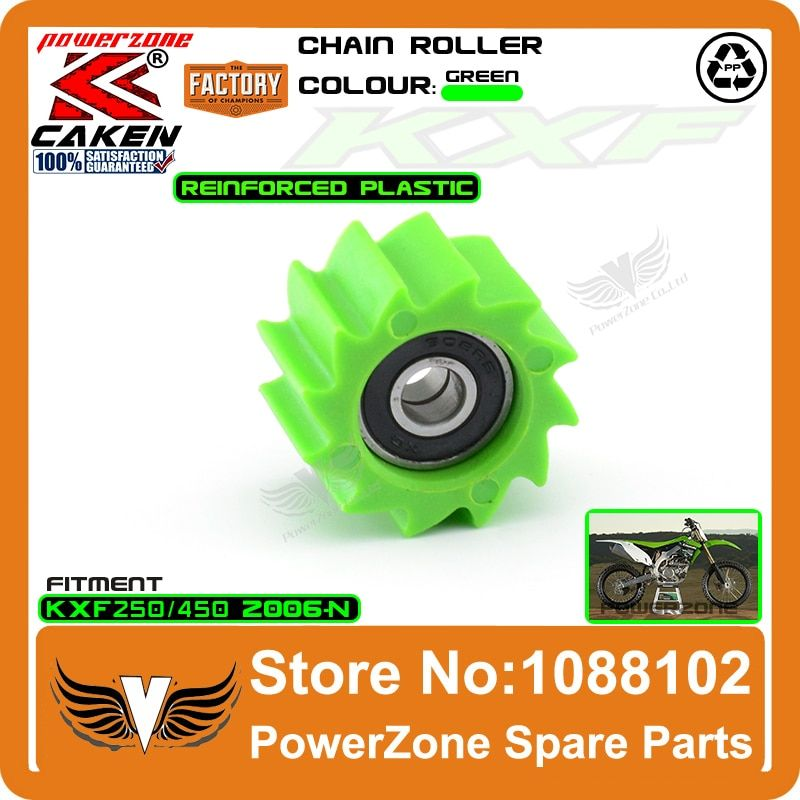 KXF Chain Roller Bottom Tensioner Pulley Wheel Guide Fit KX250F KX450F 06-16 Dirt Bike Motorcross Motorcycle Free Shipping