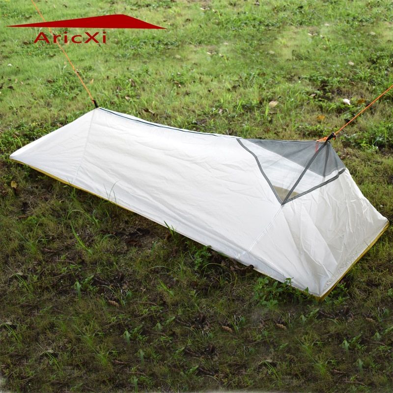 Nur 250 gramm 4 jahreszeiten netzinnen zelt im freien sommer camping zelt