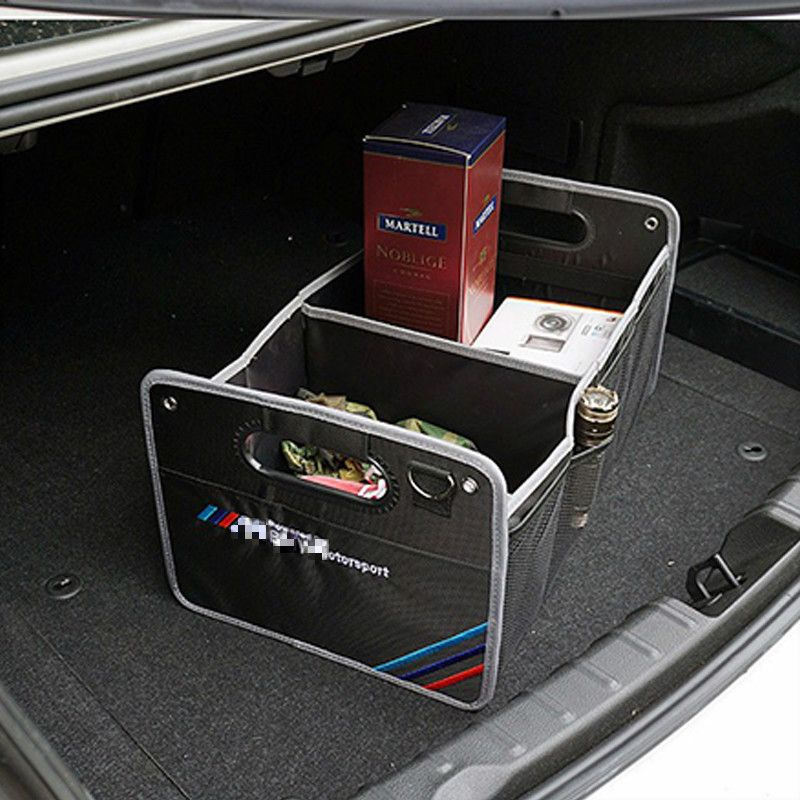 1x Trunk Box Bag For Mercedes Benz with AMG logo W211 W203 W204 W210 W205 W212 W220 W221 W163 W164 C180 C200 AMG C E SLK GLK GLS