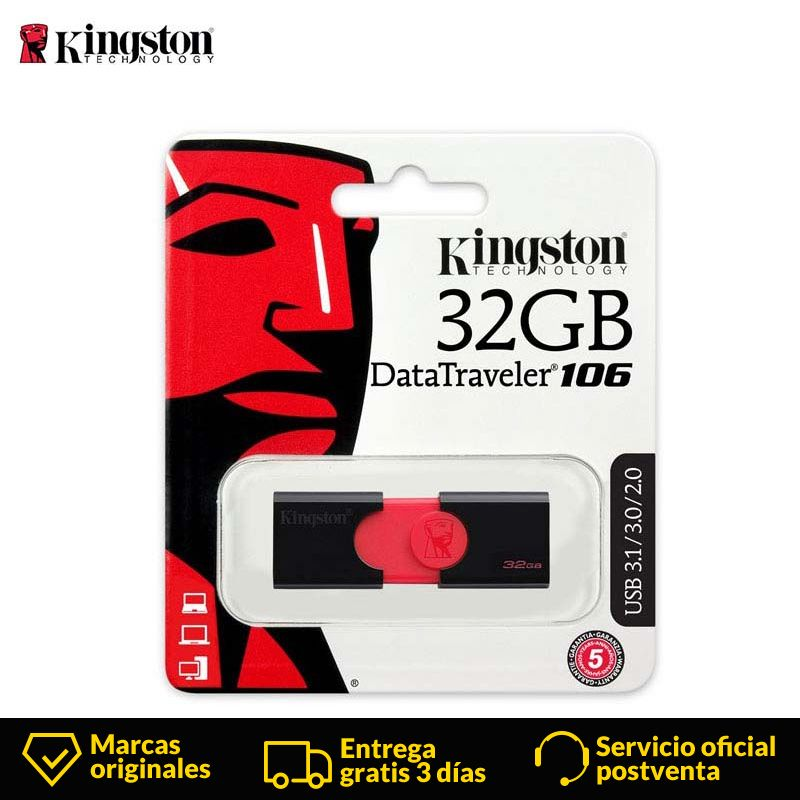 Kingston technologie clé USB clé USB 32 GB 16 GB 64 GB 128 GB 256 GB usb 3.0 clé USB clé USB lecteur de stylo clé usb DT106