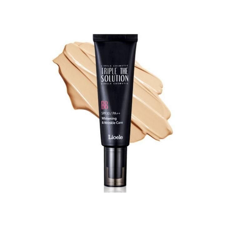 Best Korea Cosmetic LIOELE Triple the Solution BB Cream 50ml SPF30 PA++ Whitening Wrinkle Care UV Protection Concealer Make Up