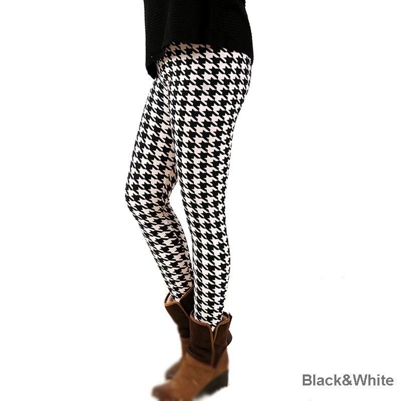 D7fashion femmes bas haute élastique pantalons capris confortable plus leggings impression livraison gratuite s-xxxxxl