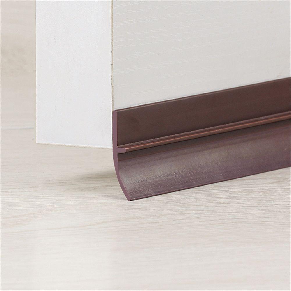 Seuil de fond de porte joints bouchon d'étanchéité bande d'étanchéité en Silicone 0-28mm écart 3 M/adhésif acrylique 25mm 35mm 45mm brun blanc