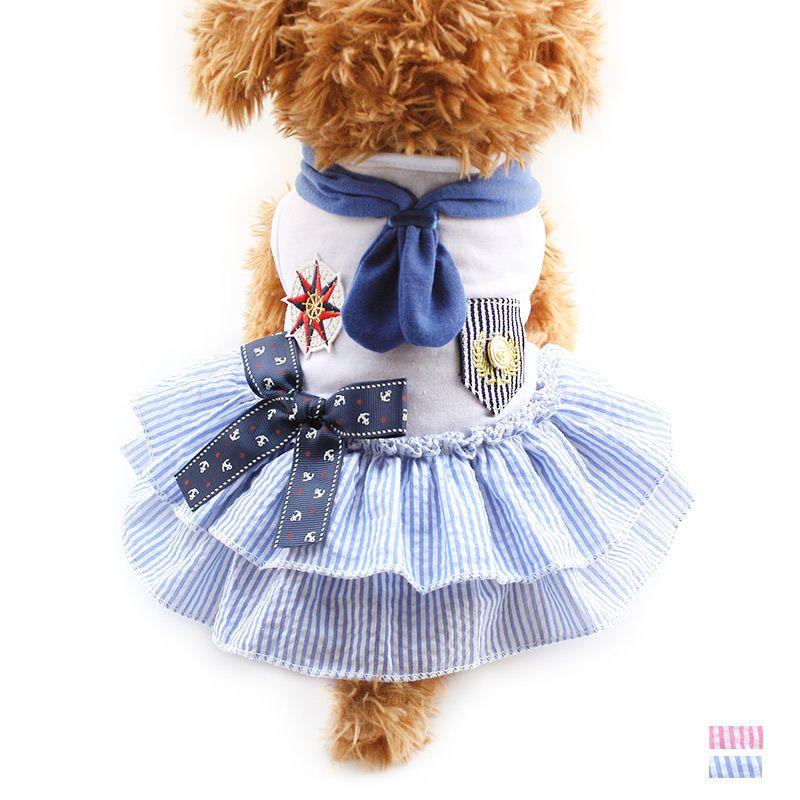 Armi magasin Classique Chien Robes Princesse Robe Pour Chiens 6071068 Pet D'été Jupe Vêtements XS S M L XL