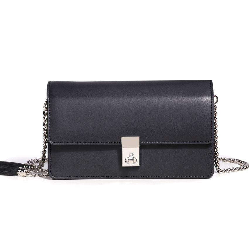 Amasie New Arrival Small Fashion Genuine Leather Flap Simple Design Women Crossbody Handbag Bolsas Sac EGT0342