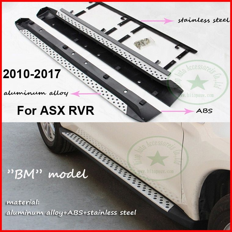 side step nerf bar running board for Mitsubishi ASX RVR,