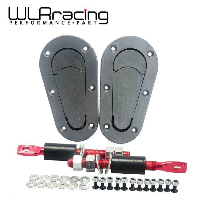 WLRING STORE- NEW D1 Generation Bonnet Pins Plus Flush Kit Hood Pin Plastic Without Lock WLR-BPK-D11