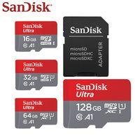 Reboto Micro SD Card 8 ГБ 16 ГБ 32 ГБ 64 ГБ карта памяти Class 10 64 ГБ красный и серый карты памяти для телефона 8 ГБ Бесплатная Card Reader