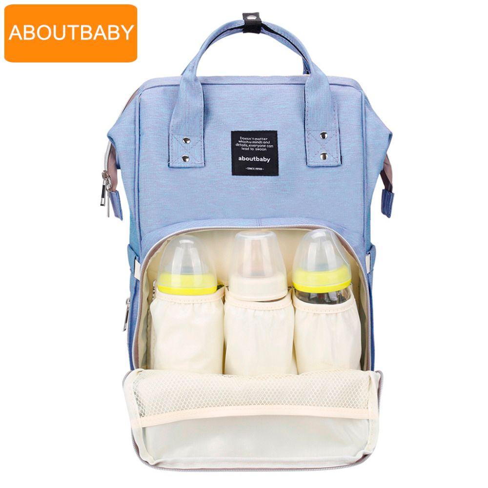 Baby diaper bag backpack designer diaper bags for mom mother maternity nappy bag for stroller organizer bag set accessories