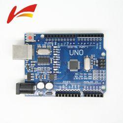high quality One set UNO R3 MEGA328P CH340G For Arduino UNO R3 Original Chip 16Mhz