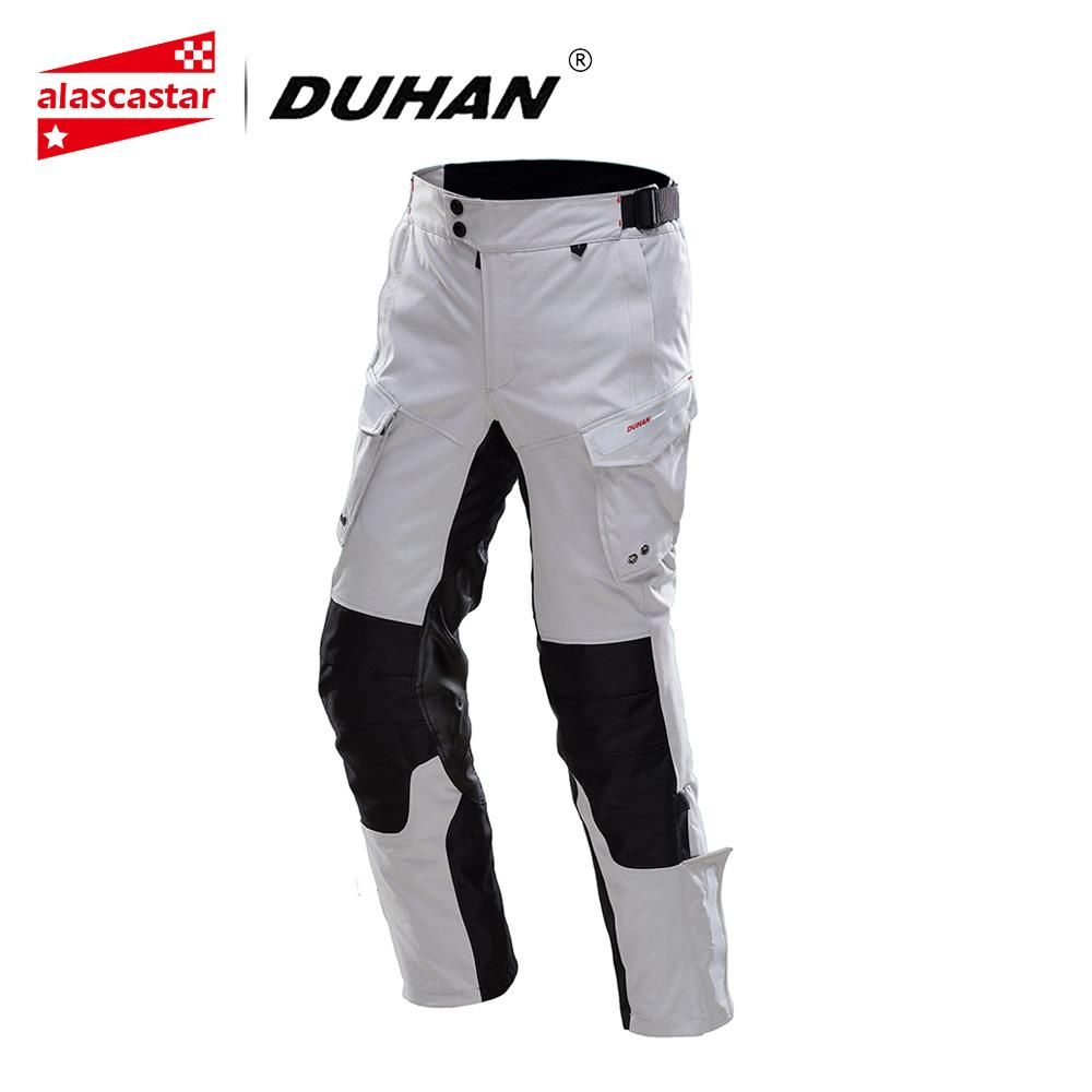 DUHAN Motorcycle Pants Men Moto Pants Motorcycle Touring Travel Riding Pants Waterproof Rain-Proof Pants Racing Trousers