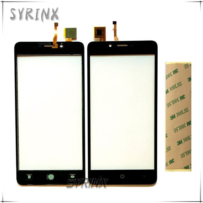 Syrinx With 3M Tape Moible Phone Touchscreen Sensor For Leagoo Kiicaa Power Touch Screen Digitizer Front Glass Panel Lens