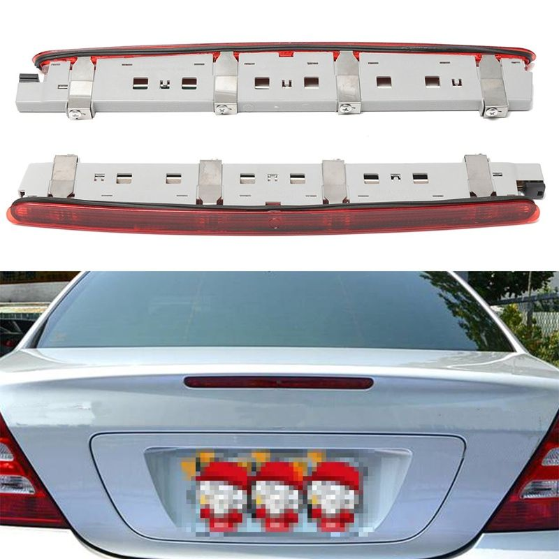 Universal LED Red Rear Tail Brake Stop Turn Signal Light For Mercedes W203 C-Class SEDAN 2000-2007