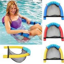 2018 Summer Amazing Noodle lounger Chair floating chair Ride-ons water hammock Toy for Adult Pool Rafts Swimming Inflatable Toys