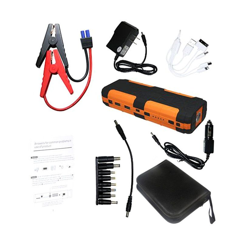 Sales Promotion 20000mAh Best Quality Battery Charger Portable Car Jump Starter Booster Power Bank For 12V auto