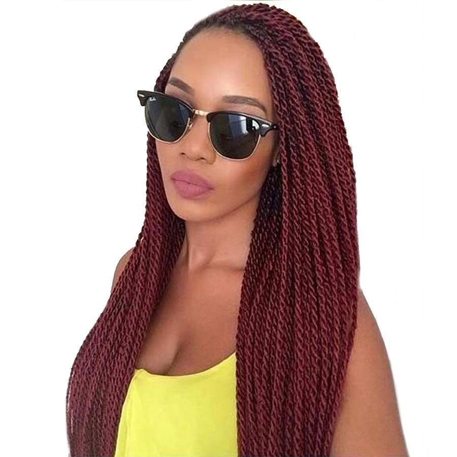 Томо 14 16 18 20 22 дюйма 30 Корни упаковке нота косы 16 видов цветов химическое Сенегальский крутить крючком волос 7 упаковок/партия
