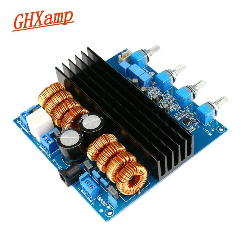 GHXAMP TDA7498 2,1 Digital Power Verstärker Bord TL072 100 W * 2 + 200 W Woofer Verstärker Lautsprecher Bord DC24V