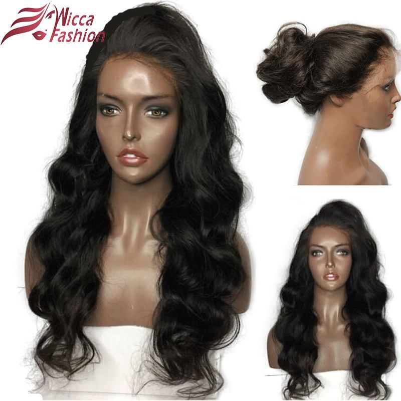 Dream Beauty Glueless Lace Front Wigs <font><b>Body</b></font> Wave Brazilian Remy 100% Human Hair Pre Plucked Hairline