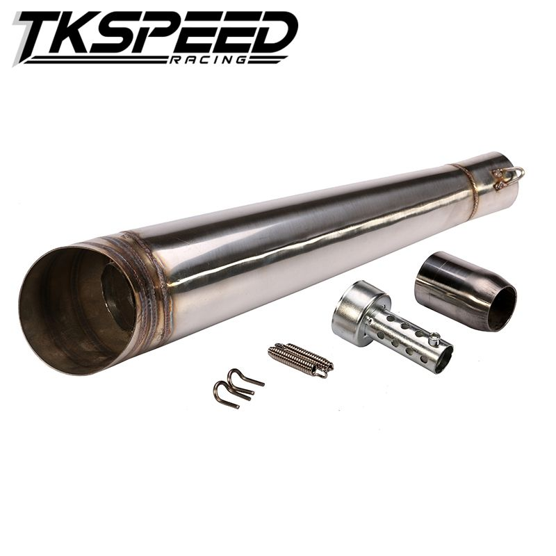 48.8MM Modified motorcycle exhaust pipe stainless steel fried tube gp exhaust pipe