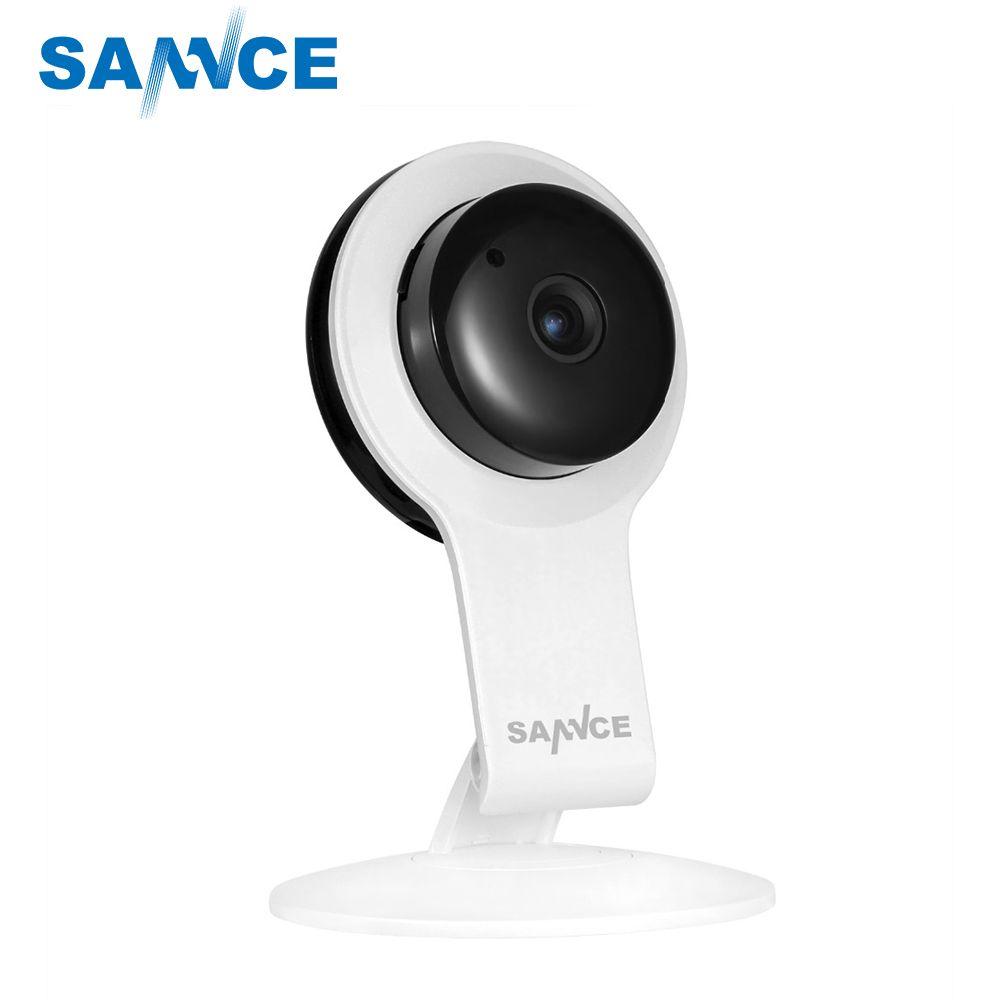 SANNCE Wireless Wi-Fi 720P IP Network Security Wifi Camera Indoor IR Two-Way Audio