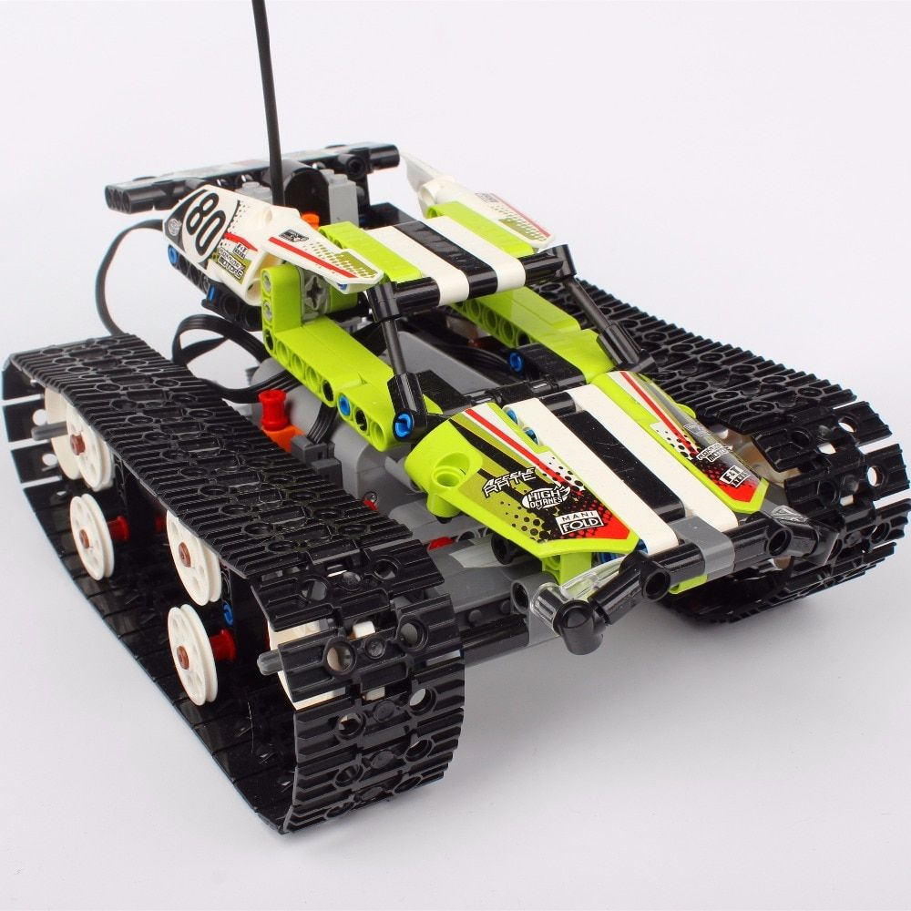 Hot 20033 397Pcs Technic Series The RC Track Remote-control Race Car Set Building Blocks Bricks Lovely Gifts Toys 42065