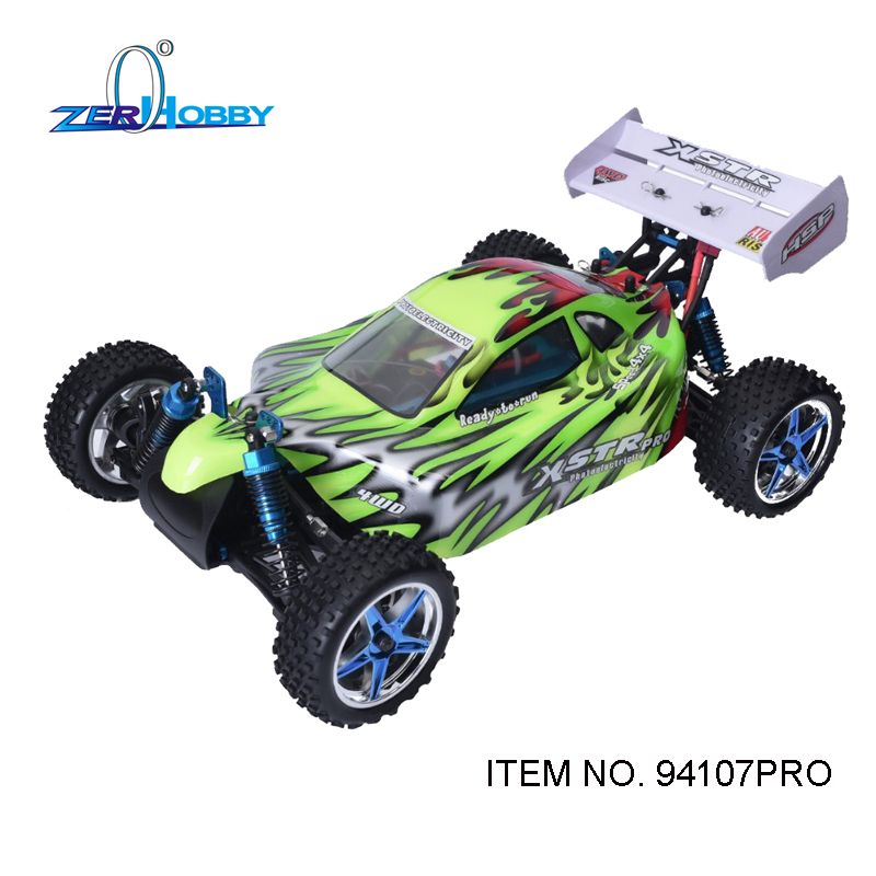 HSP RACING XSTR PRO 94107PRO REMOTE CONTROL CAR TOYS 1/10 ELECTRIC POWERED BRUSHLESS MOTOR OFF ROAD RTR BUGGY