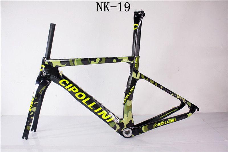 2017 carbon bike frame CIPOLLINI NK1K model T1000 1k/3K road bicycle frame more than 20 colors carbon road frame