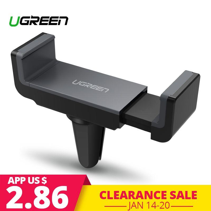 Ugreen Auto Halter für iPhone X XS 8 Halter für Telefon in Auto 360 Drehen Air Vent Halterung Auto Telefon halter Handy Halter Stehen