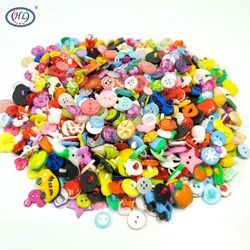 Распродажа Hl 50 шт/100 шт смешанные формы много цветов Diy Скрапбукинг Мультяшные кнопки пластиковые Детские швейные принадлежности