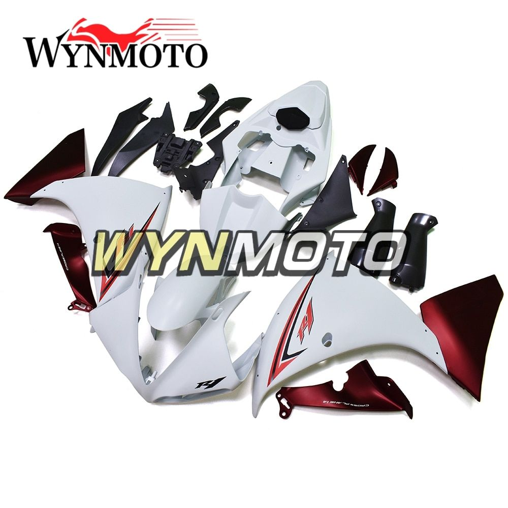 Full ABS Plastic Injection White Red New Motorcycle Fairings For Yamaha YZF R1 2009-2011 Year 2009 Fairings Kit Hulls Bodywork