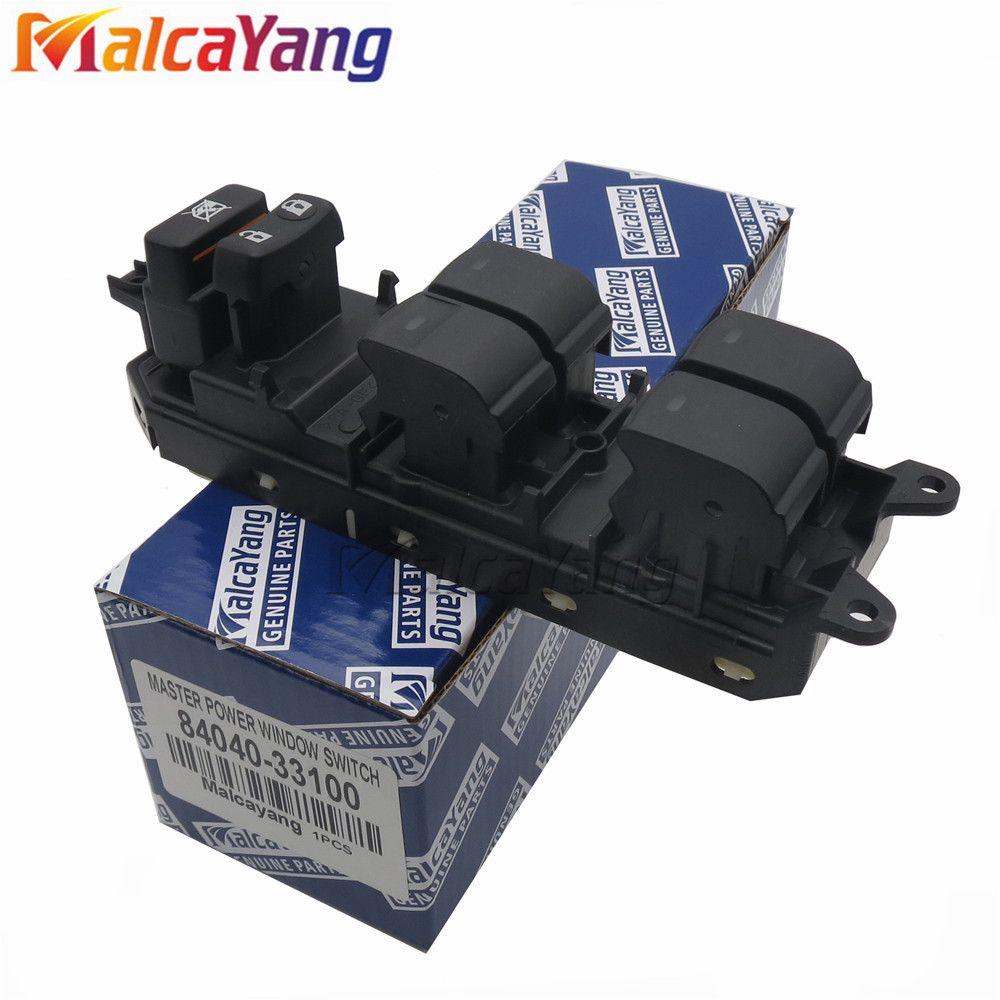 84040-33100 links, vorne Electric Power Fenster Master Switch Für Toyota Camry Prius Land Cruiser Venza Lexus CT200h 8404033100